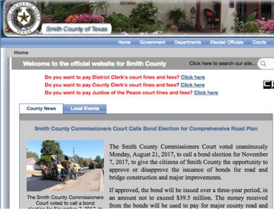 Smith County Website