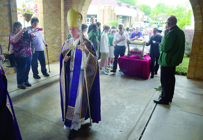 A Moving Experience: East Texans venerate youngest canonized saint in Tyler
