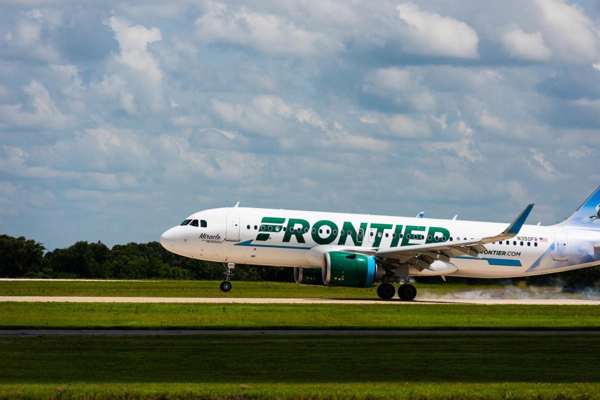frontier airlines to resume tyler service sunday business tylerpaper com frontier airlines to resume tyler