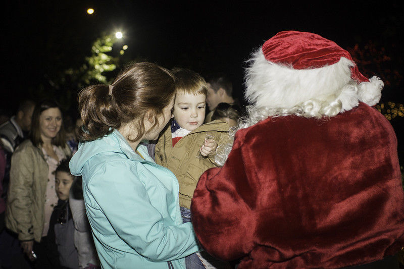 Christmas event at The Children's Park makes Christmas bright for families