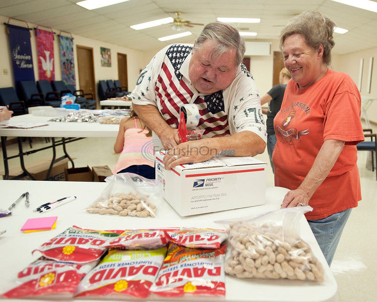 East Texans give, show support for service members