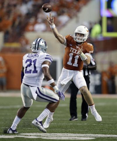 Texas quarterback Ehlinger is Week 6 Earl Campbell Award winner
