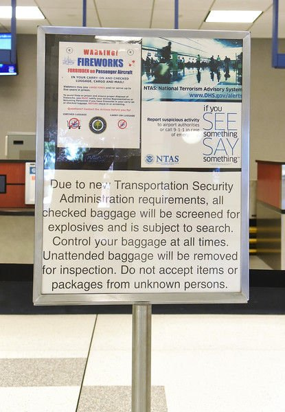 Heightened airport security is a lasting effect of Sept. 11
