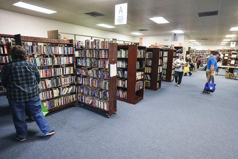 Thousands of volumes available as Fall BookFair gets underway