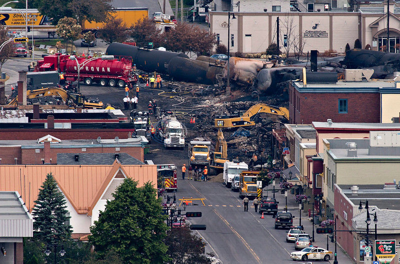 60 now reported missing in Canada rail disaster