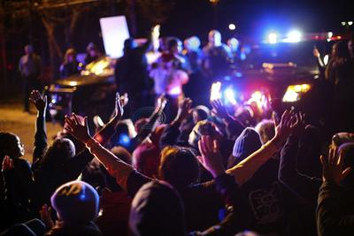 Protests erupt after black man shot by police in Minneapolis