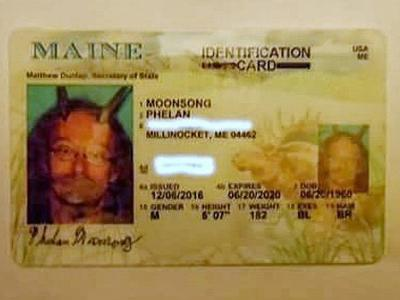 Maine allows pagan priest to wear goat horns in official state-issued ID photo