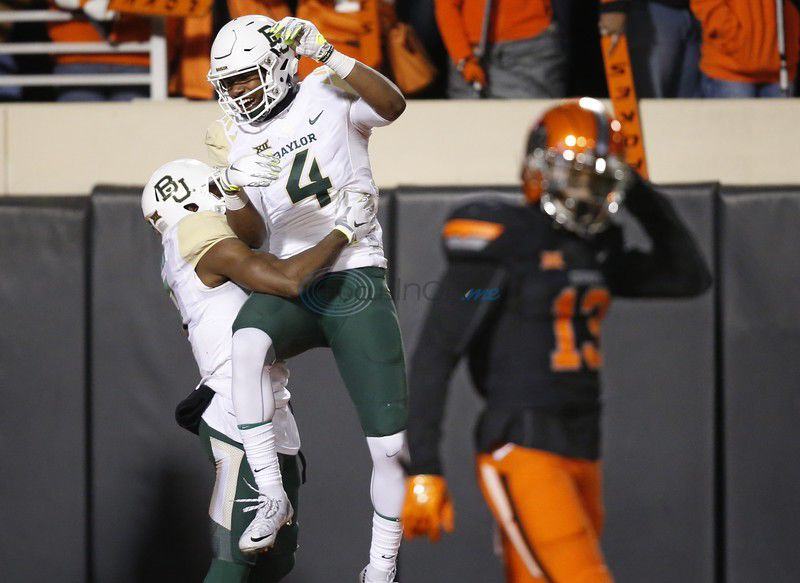 Baylor receiver Cannon named Campbell Player of the Week