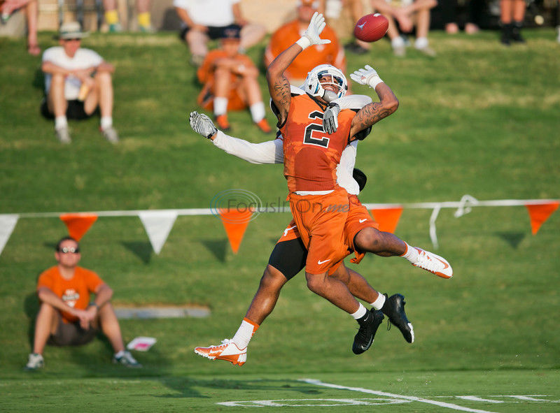 Adrian Phillips Texas Longhorns Football Jersey - Orange