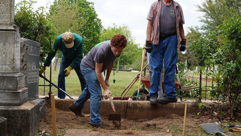 Local Boy Scout leads peers in project to improve Beth El Cemetery, honor those buried there