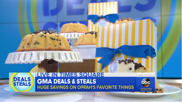 Tyler's Janie's Cakes makes Oprah's list of Favorite Things