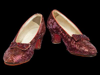 """Smithsonian launches Kickstarter campaign to repair Dorothy's ruby slippers from """"The Wizard of Oz"""""""