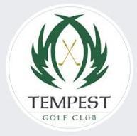 Tempest golf logo