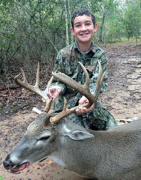 Brother, sister get deer season going early