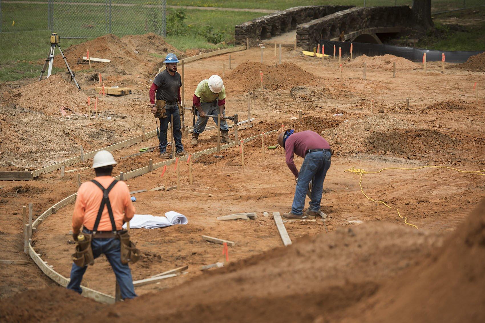 Hillside Park Construction in Tyler tylerpapercom