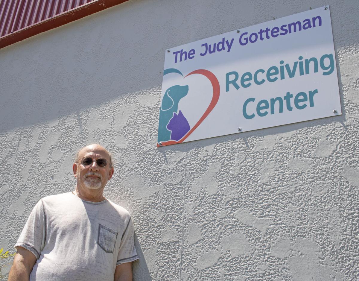 Pets Fur People names Judy Gottesman Receiving Center