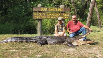 Youth goes big on public alligator hunt