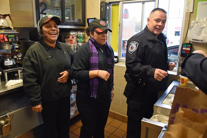 East Texans get to know police over coffee