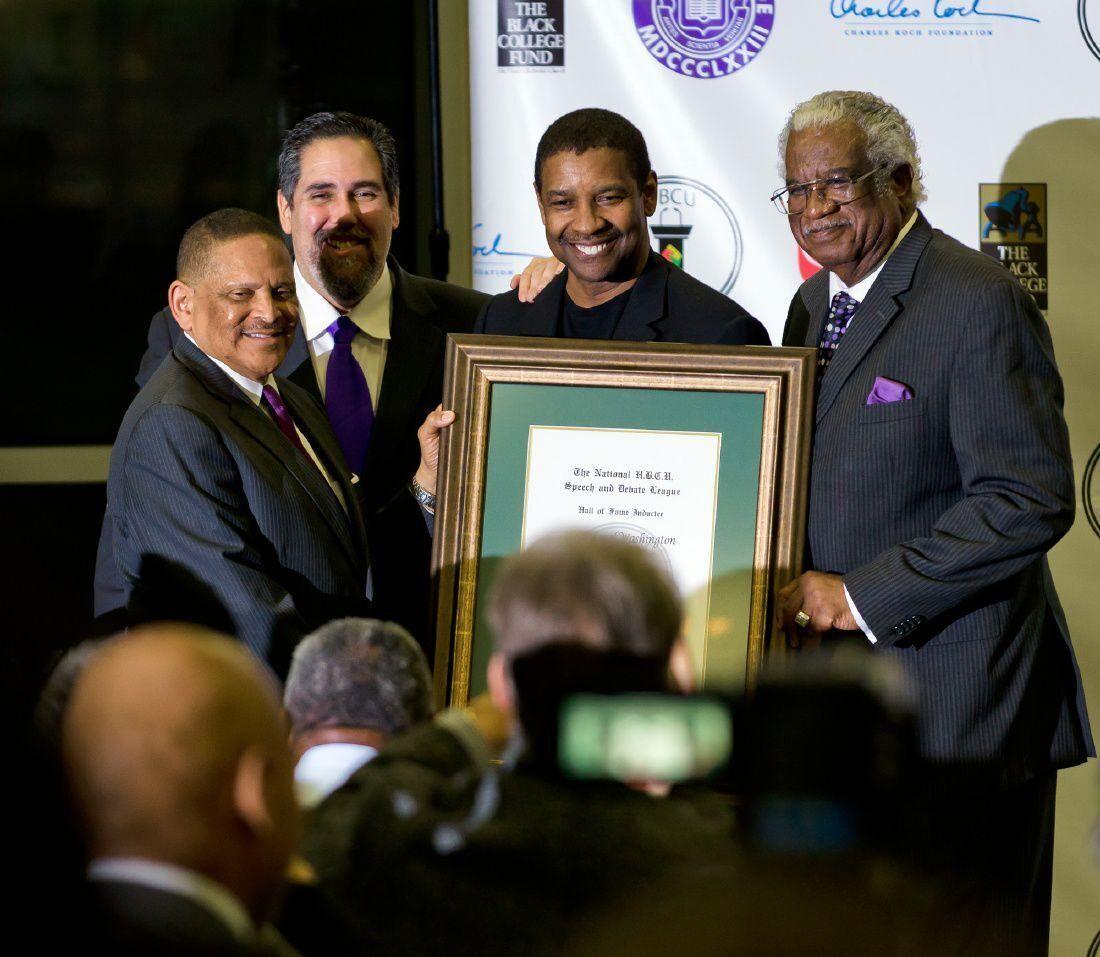 Denzel Washington Donates Fourth Installment of 0,000 to Support Wiley College's Debate Team