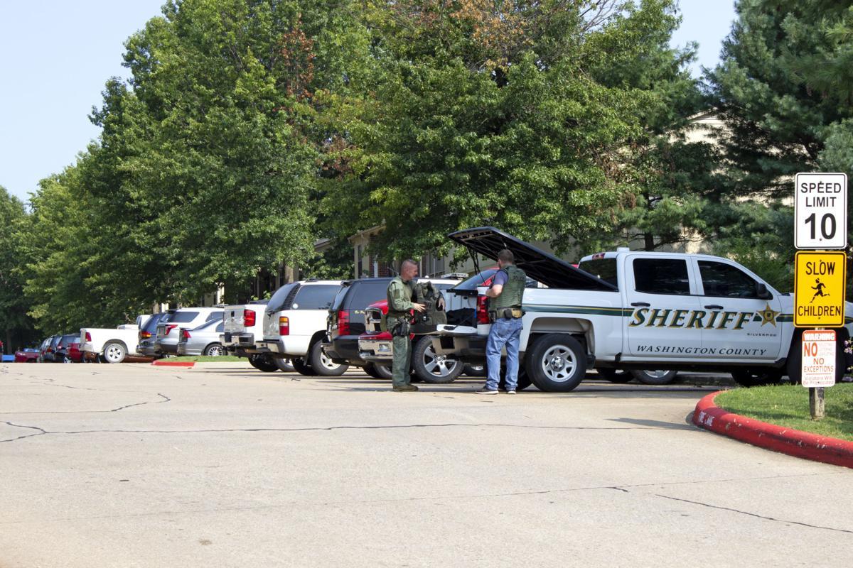 Police at Standoff Sept. 6