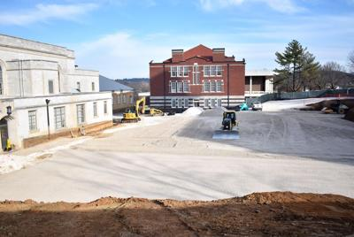 Campus Construction Projects Completed Over Winter Break