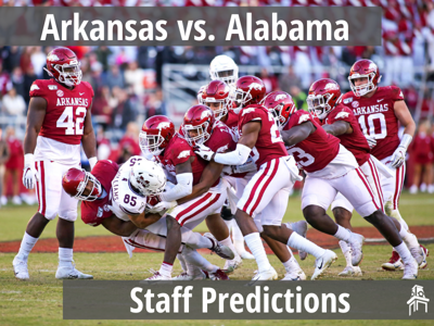 Arkansas vs. Alabama Predictions