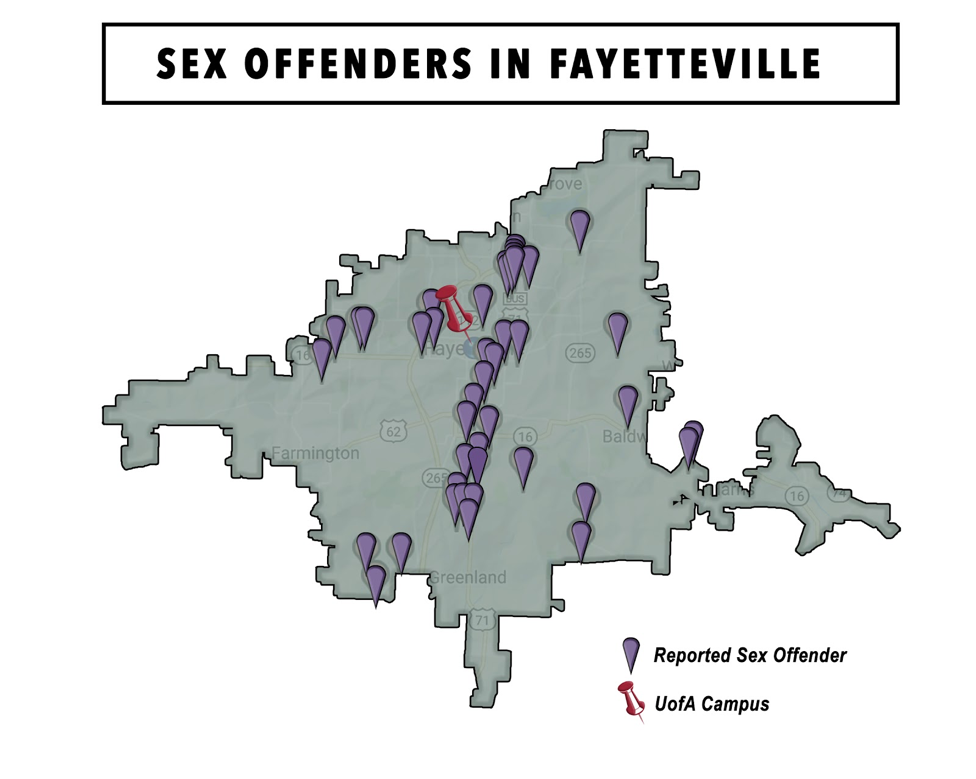 Most sex offenders per capita