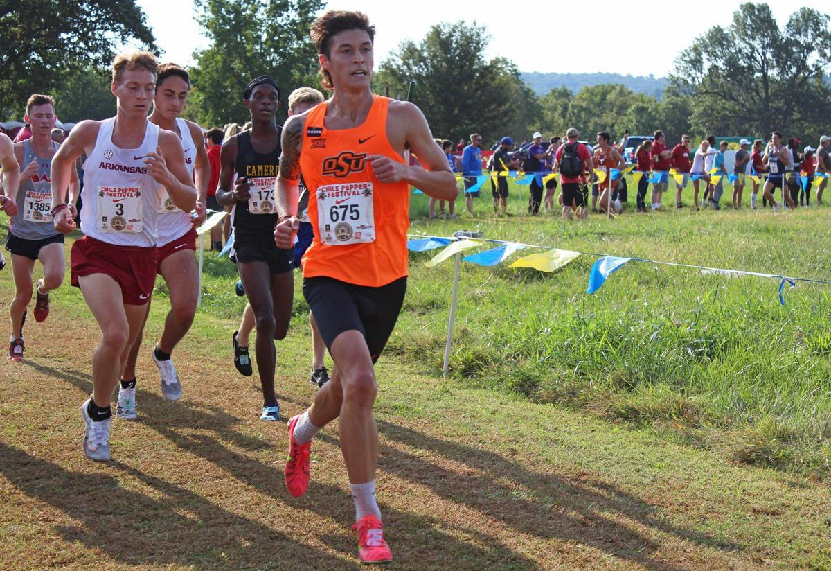 Mens' Cross Country Takes Fifth at Chile Pepper
