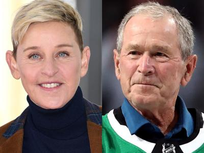 Ellen Takes Fire For Friendship With Bush