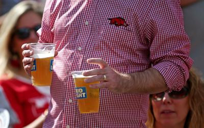 Razorback Football Beer Sales