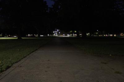 Students Worry About Lighting on Campus Paths