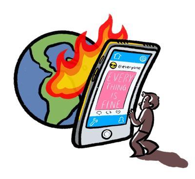 Amazon Fires Cartoon