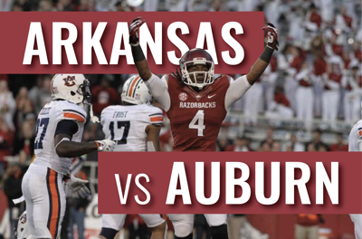Hogs Try For First SEC Victory Against Auburn
