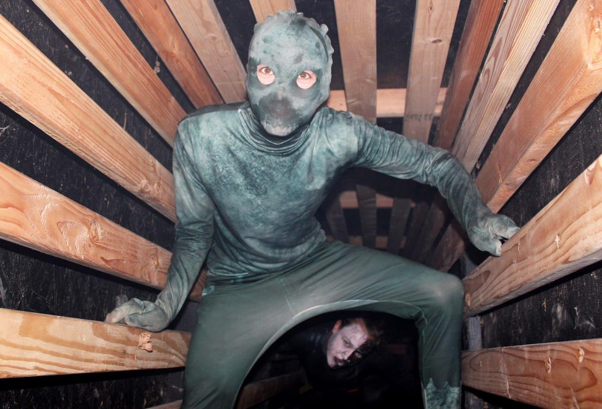 Haunted House Changes Chilling Exhibits to Keep Guests on Toes