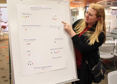 Students Use Campus Resources to Get Back on Track