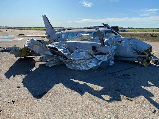 Jonesboro Tornado, Airplane