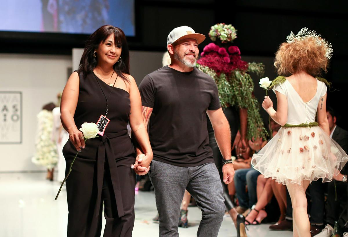Mother-Daughter Team Takes Runway With Floral Styles