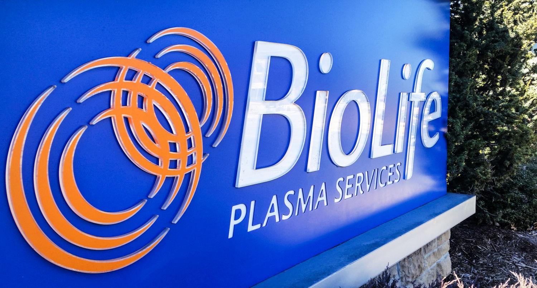 Biolife Plasma Services Logo Www Tollebild Com