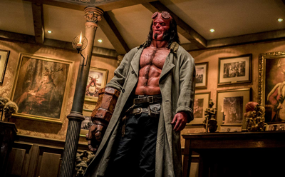 Hellboy burns viewers' eyes and ears