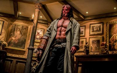 Hellboy' Burns Viewers' Eyes And Ears With Loud, Uninspired