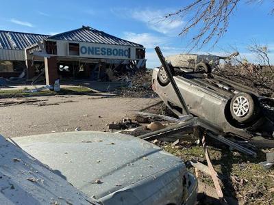 Jonesboro Tornado, Airport