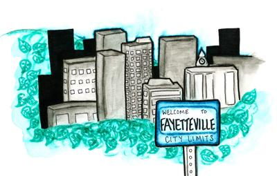 Fayetteville Requires Broader Skyline, Narrower Sprawl