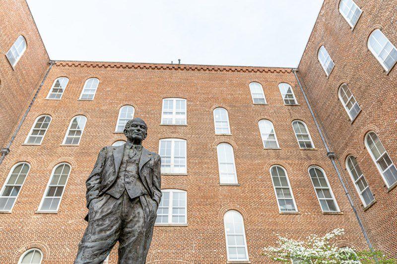 Fulbright Statue