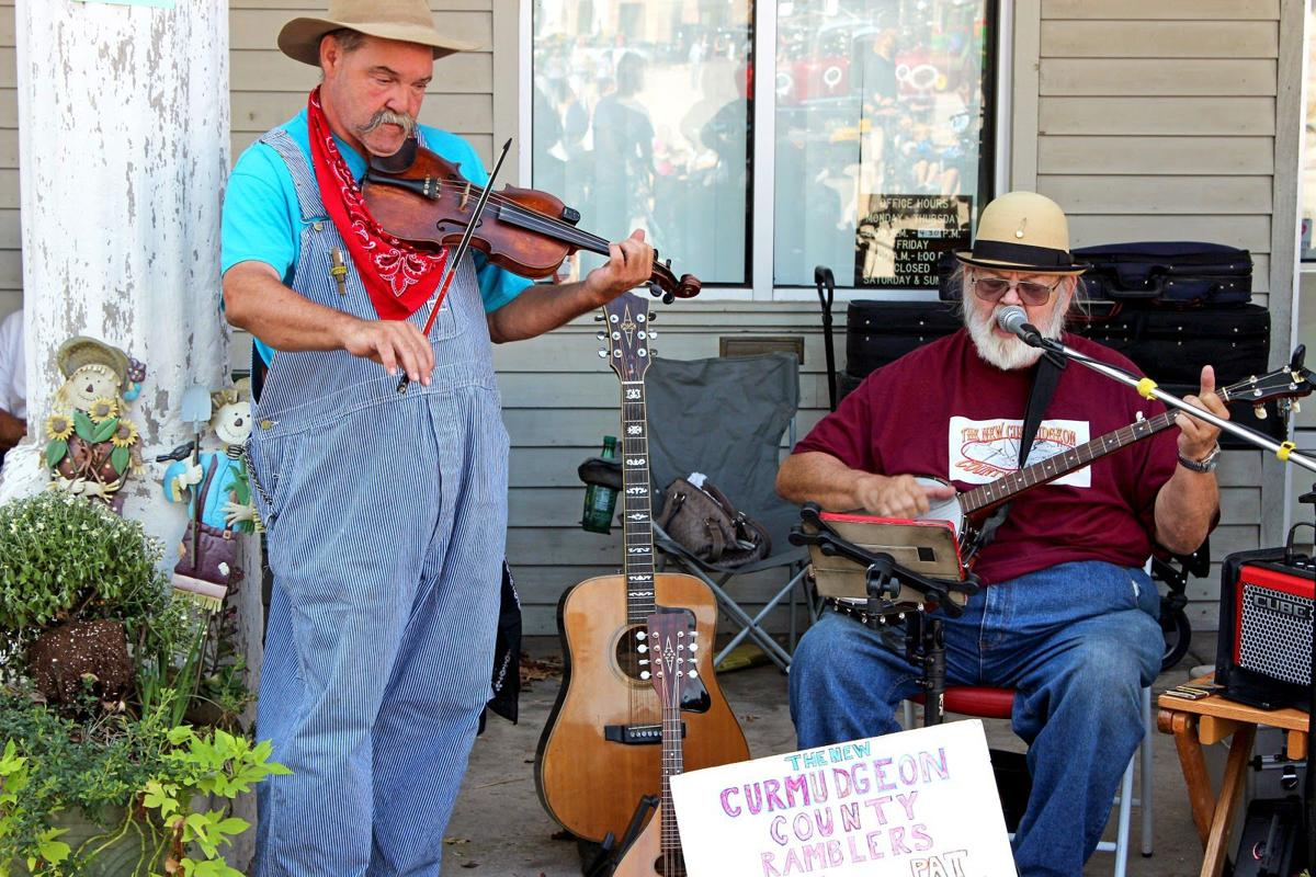 Musicians Perform At Arkansas Apple Festival