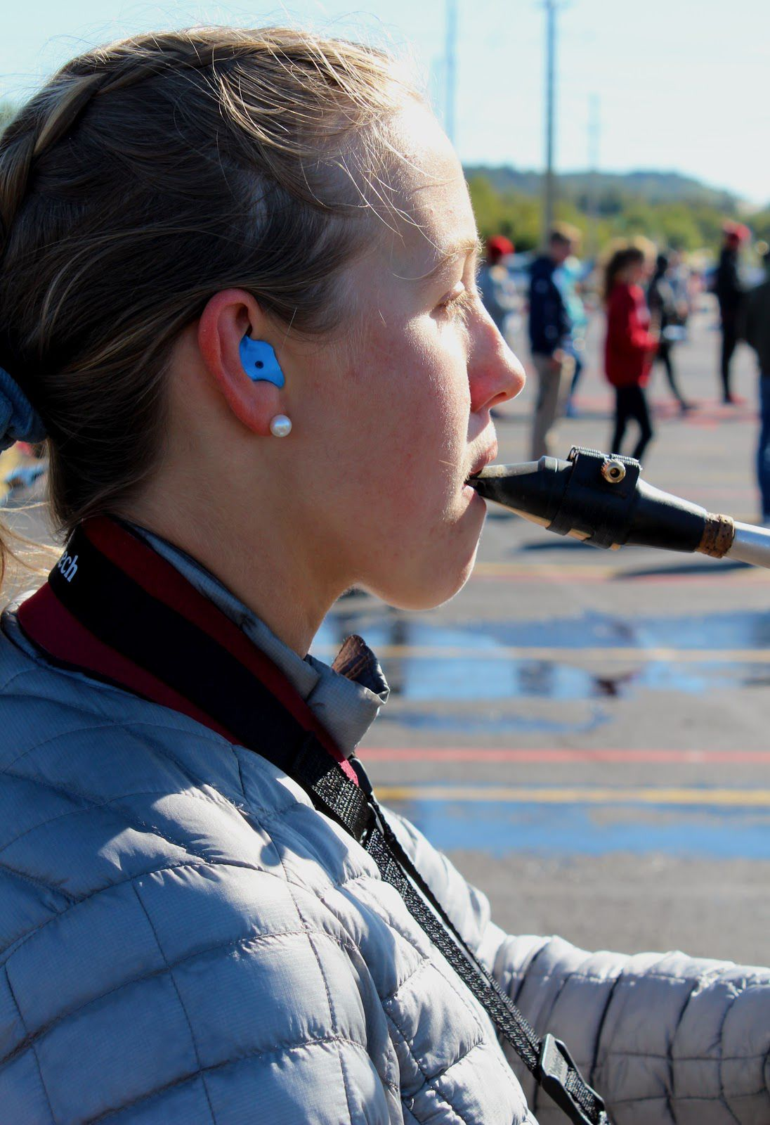 Some UA Marching Band Members Receive Custom-Fit Ear Plugs
