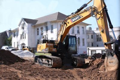 School of Social Work Demolition