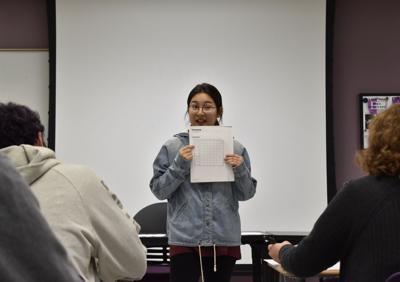 Students present Korean language classes to community