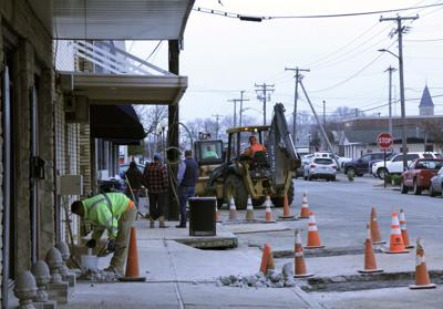Roundabout construction hurts local businesses