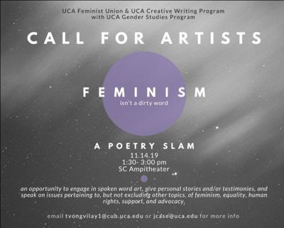 Feminist Union to host poetry slam