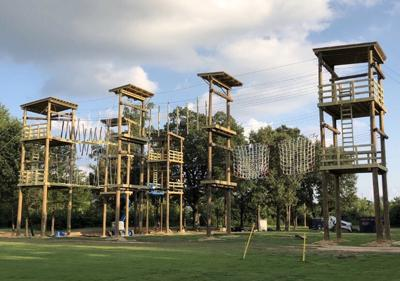 Challenge course opens to campus community in September